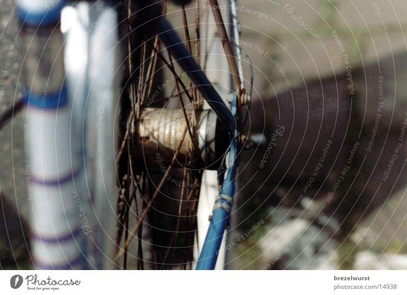 Fahrrad Rad Freizeit & Hobby Kette Rost alt Detailaufnahme