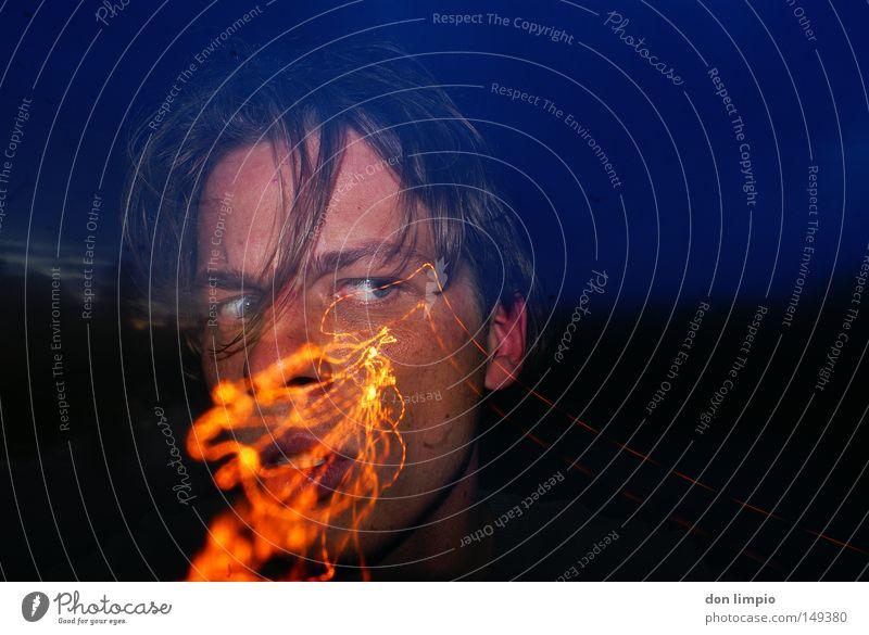 was ist schief gelaufen? Mensch Gesicht Auge Kopf Gesichtsausdruck Digitalfotografie unwissend