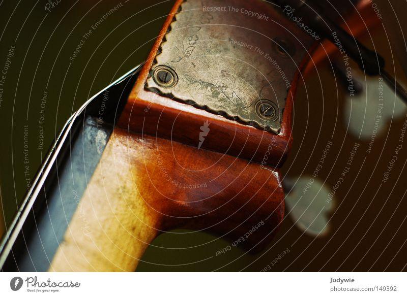 kleine Schnörkel Farbfoto Menschenleer schön Freizeit & Hobby Dekoration & Verzierung Musik Kunst Konzert Bühne Orchester Geige Blüte Schnecke Holz Herz alt