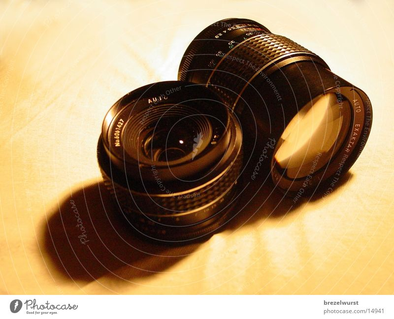 Objektive Teleobjektiv Spiegelreflexkamera Handwerk Fotokamera Normalobjektiv Linse