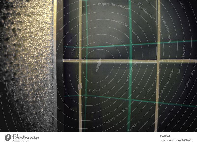 kachelnkachelnkacheln Fliesen u. Kacheln Dusche (Installation) blau zyan Reflexion & Spiegelung Bad Sauberkeit rein Reinigen glänzend