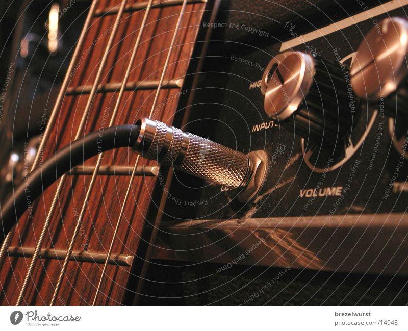 Stecker im Versträrker Griff Buchse Verstärker Plug In Regler Saite Freizeit & Hobby Gitarre Kontrabass Musik bünde