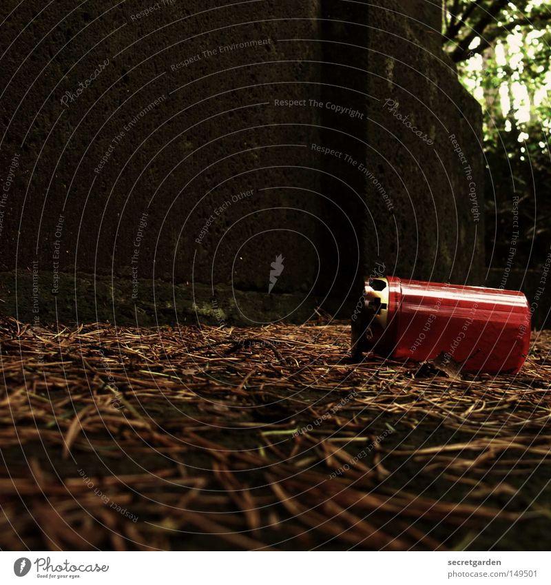 [HH08.4] totensonntag Friedhof ruhig Gebet Licht dunkel rot Kerze Grab Holz umfallen achtlos Zeit Tod Trauer leer besuchen verfallen Verzweiflung aus totenlicht