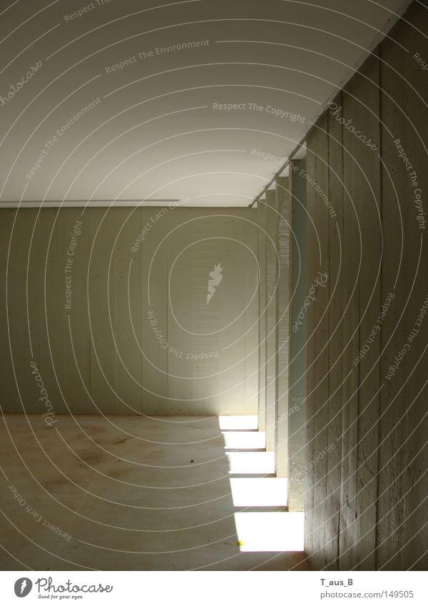 Einfall Wand Perspektive modern Säule Betonklotz