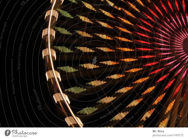 ...und noch ne runde ! grün rot Freude gelb oben Bewegung Metall orange Angst rosa fliegen hoch Geschwindigkeit Aktion Kreis fahren