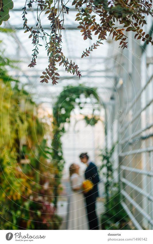 glücklich zusammen 2 Lifestyle elegant Stil Freude Leben harmonisch Sinnesorgane Erholung Freizeit & Hobby Abenteuer Freiheit Braut striegeln Bräutigam Hochzeit