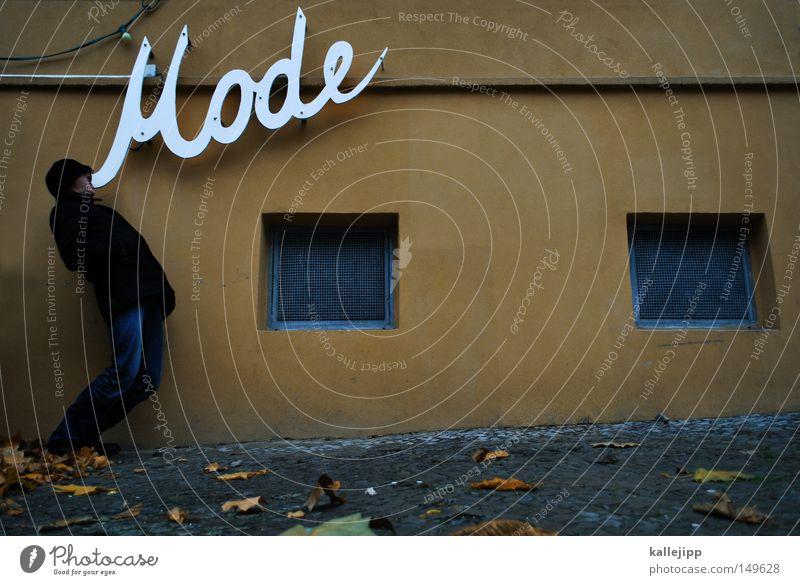modewort Mensch Mann schön Ernährung Graffiti sprechen lustig Mode Design modern Brand Schriftzeichen Wassertropfen Ladengeschäft Buchstaben Telekommunikation