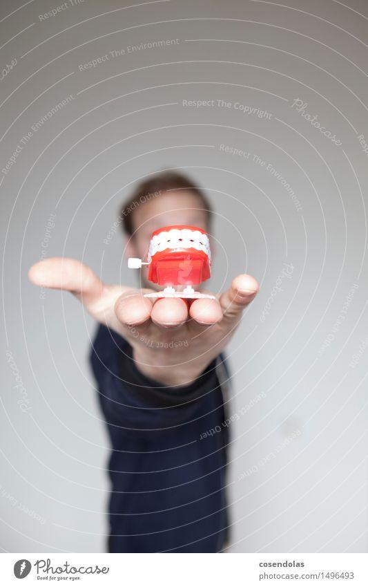 Kauleiste Körperpflege Gesundheit Wissenschaften lernen Arzt Gesundheitswesen krankenkasse Zähne symbol Zahnarzt Farbfoto Textfreiraum links Textfreiraum rechts