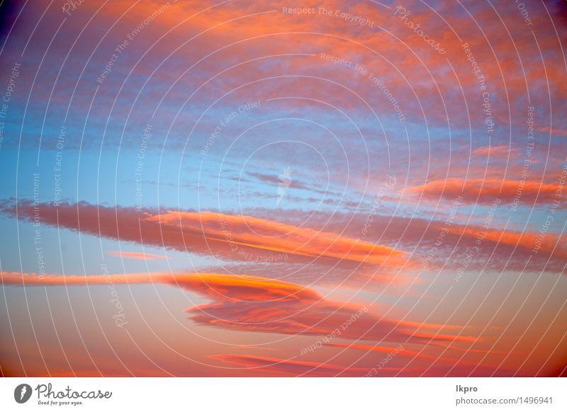 e weiche Wolken und abstrakter Hintergrund Himmel Natur Himmel (Jenseits) schön Farbe Sonne rot Umwelt natürlich Freiheit hell Wetter Dekoration & Verzierung