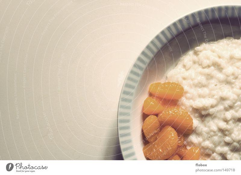 Ich geb' ne Runde.. Reis Mandarine Frucht Mittagessen süß Dessert Speise Ernährung gesättigt satt Appetit & Hunger lecker Zucker Abendessen Frühstück