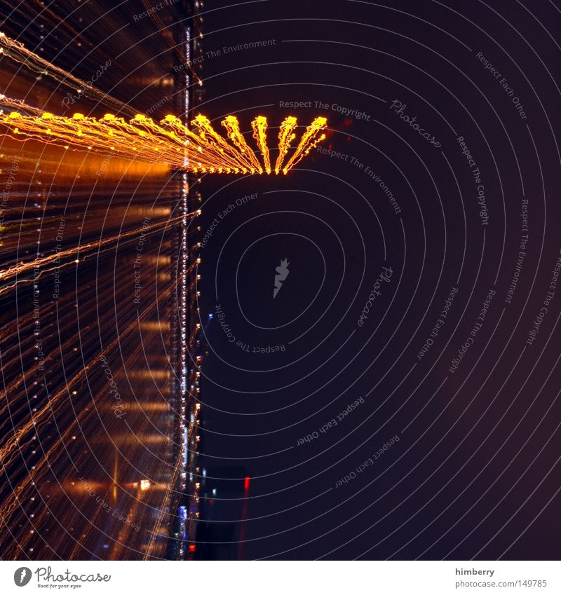 timeshifter rot schwarz Bewegung orange Design Verkehr Geschwindigkeit Brücke gefährlich Zukunft bedrohlich Versuch Fehler unruhig ausrutschen Zoomeffekt