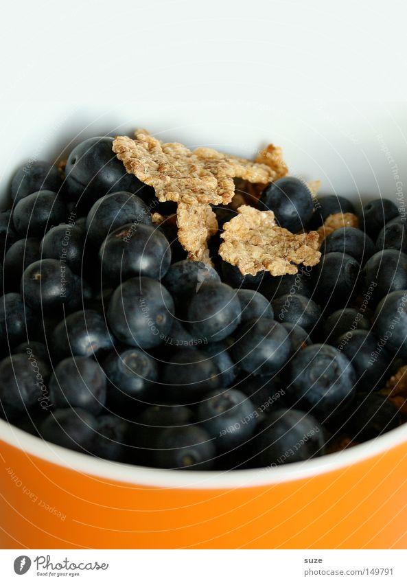 Blaubären weiß Gesundheit orange Frucht Lebensmittel frisch Ernährung süß Frühstück lecker Bioprodukte Beeren Schalen & Schüsseln Vitamin Vegetarische Ernährung