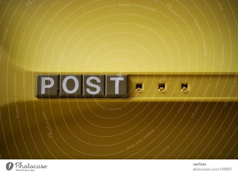 Ich kaufe ein R und möchte lösen gelb Schilder & Markierungen Ordnung Buchstaben Arbeit & Erwerbstätigkeit Post Verwaltung Schublade Beschriftung PISA-Studie