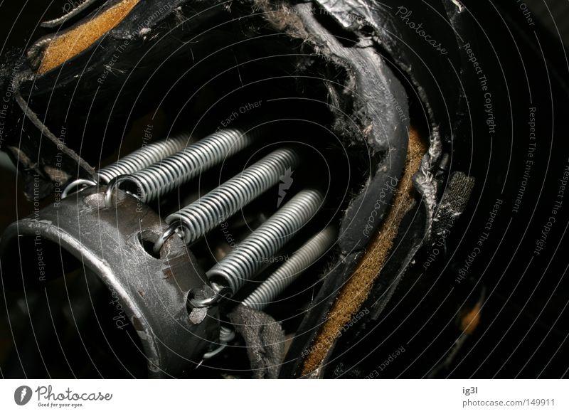 BURNOUT Maschine Metallfeder Bildausschnitt Antrieb