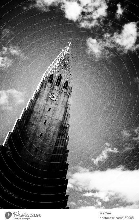 for whom the bell tolls Religion & Glaube Kirche Island Christentum Glocke Moral Gotteshäuser Katholizismus Protestantismus Reykjavík