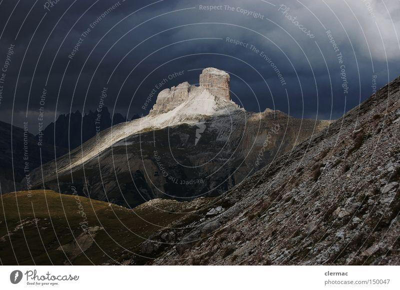 dolomiten schwalbenalpenkopf Berge u. Gebirge Alm Alpen Italien Ferien & Urlaub & Reisen wandern Klettern Dolomiten