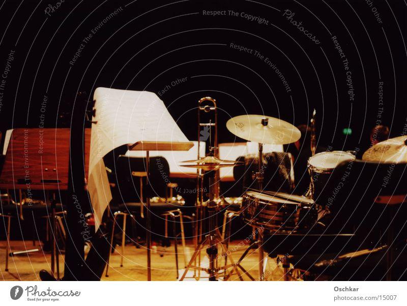 Bühne Konzert Musik leere Bühne Musikinstrument