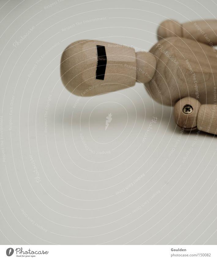 solosunny nimmt ne auszeit Mann Einsamkeit Tod Angst Ende Puppe verloren Panik blind Single