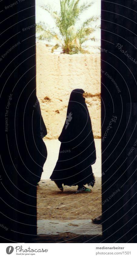 Schleier Frau Mensch Schleier Islam Marokko Tschador