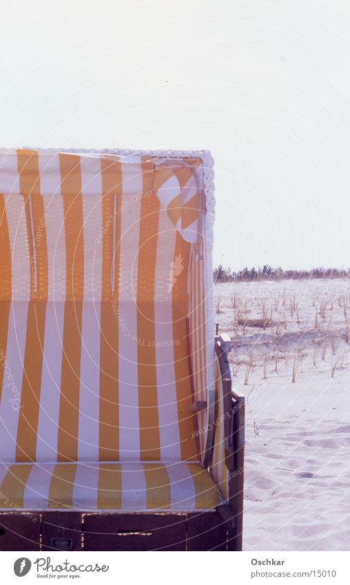 Strandkorb Sonne Freizeit & Hobby Ostsee