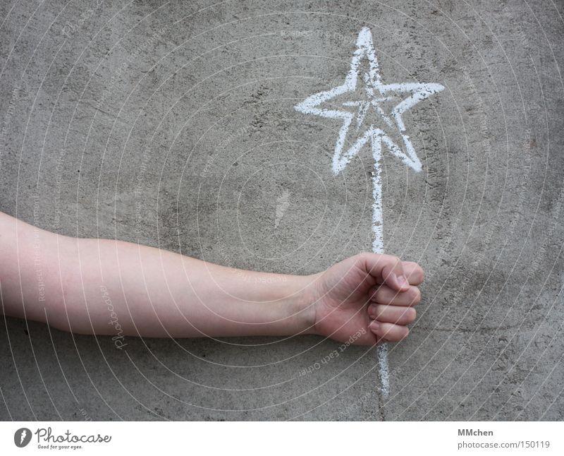 Twinkle weiß Hand Freude gelb Glück grau Weihnachten & Advent Geburtstag Geschenk Stern (Symbol) Wunsch Weihnachtsdekoration Kreide Glückwünsche Jubiläum Weihnachtsstern