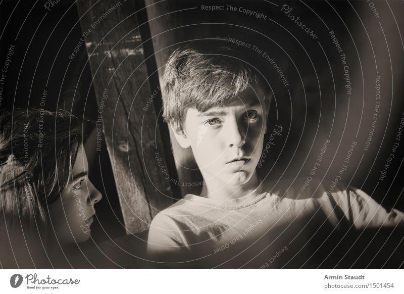Country-Porträt V Frau Jugendliche Mann schön Junge Frau Erholung Junger Mann ruhig Gesicht Erwachsene Gefühle feminin Stil Familie & Verwandtschaft Lifestyle