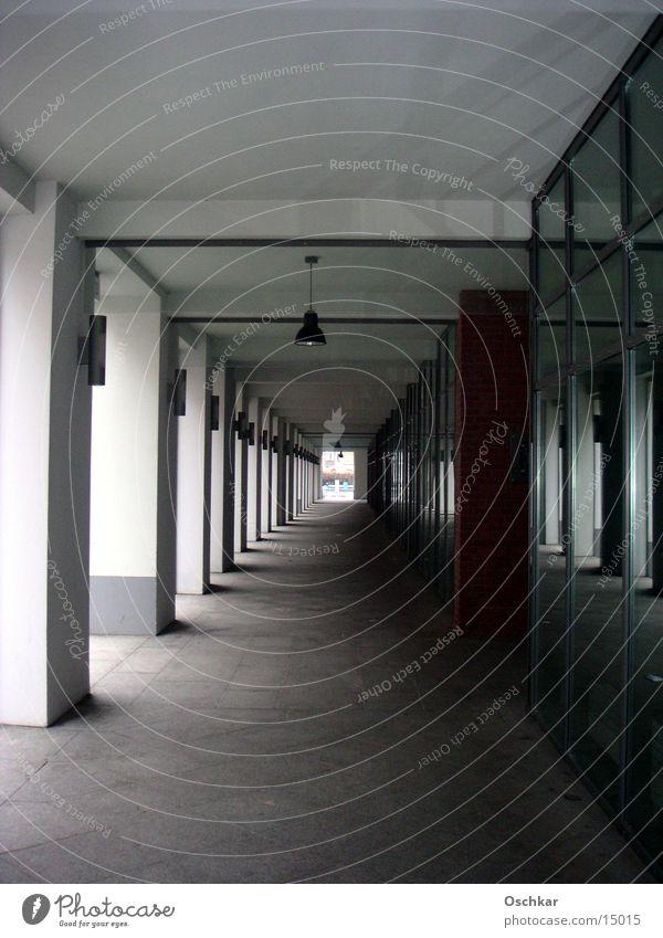 Gang Haus Architektur Flur Pfosten