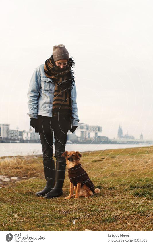 Take all the courage you have left Hund Ferien & Urlaub & Reisen Erholung kalt Herbst Bewegung Freiheit Freundschaft Wetter Freizeit & Hobby authentisch Kommunizieren Zukunft Klima Abenteuer Schutz