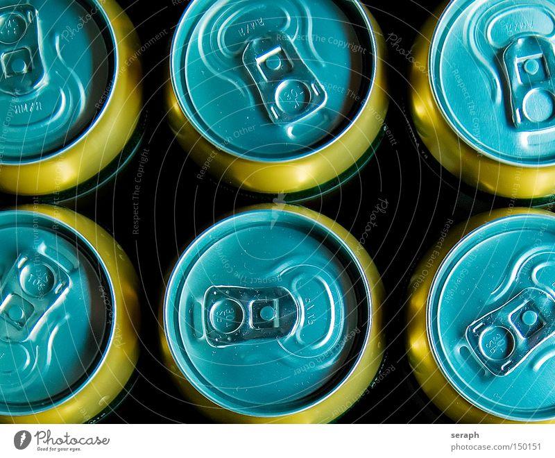 Vorher... Dose Getränk Bier Getränkedose Aluminium Recycling Verschluss Grüner Punkt Alkohol Dinge Alkoholisiert Flüssigkeit flüssiges brot weißblech dosenbier