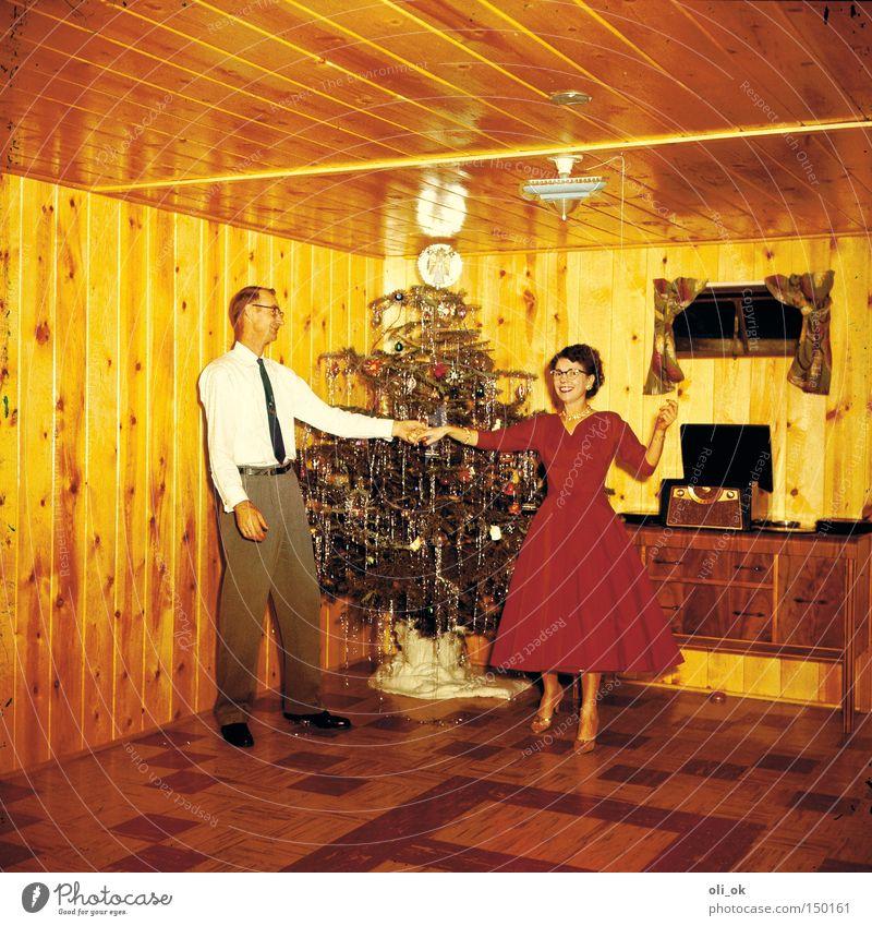 Christmas fun Weihnachten & Advent Feste & Feiern Freude Liebe Glück Paar Party Zusammensein Tanzen Weihnachtsdekoration Vertrauen Veranstaltung Verliebtheit Weihnachtsbaum Partnerschaft