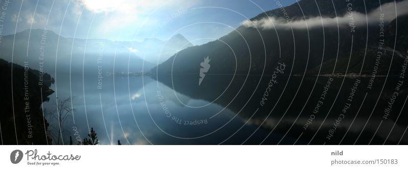 Aufbruch Achensee Bundesland Tirol ruhig ausschalten Gegenlicht Berge u. Gebirge schlechtes Wetter Schönes Wetter unentschlossen Wetteränderung nachdenken