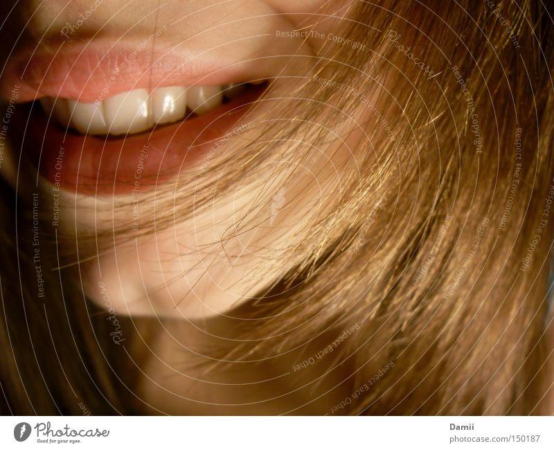 ich danke dir! rot Freude Glück lachen Haare & Frisuren Zufriedenheit Fröhlichkeit Mund Freundlichkeit Zähne Lippen Kinn Erleichterung Mensch