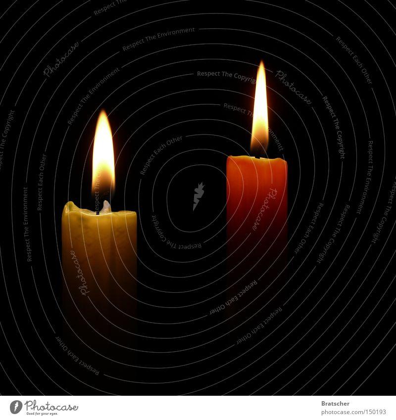 Zweiter Advent Weihnachten & Advent ruhig dunkel Religion & Glaube 2 Kerze Geborgenheit Flamme Gebet brennen Souvenir Kerzenschein Ziffern & Zahlen