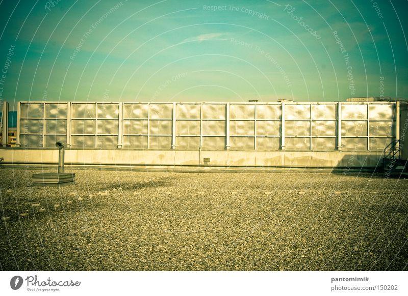 Himmel Metall Industrie Dach Klarheit Zaun Supermarkt
