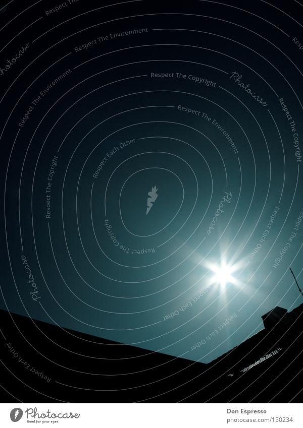 Shining Sonne hell Beleuchtung Stern Strahlung blenden grell Himmelskörper & Weltall