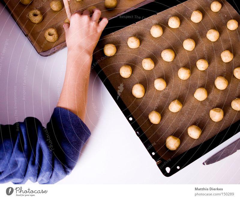 Weihnachtsbäckerei Bäckerei Weihnachten & Advent Keks Plätzchen Küche Teigwaren Backwaren verschönern Haushalt Süßwaren Backblech Arme Kugel backen