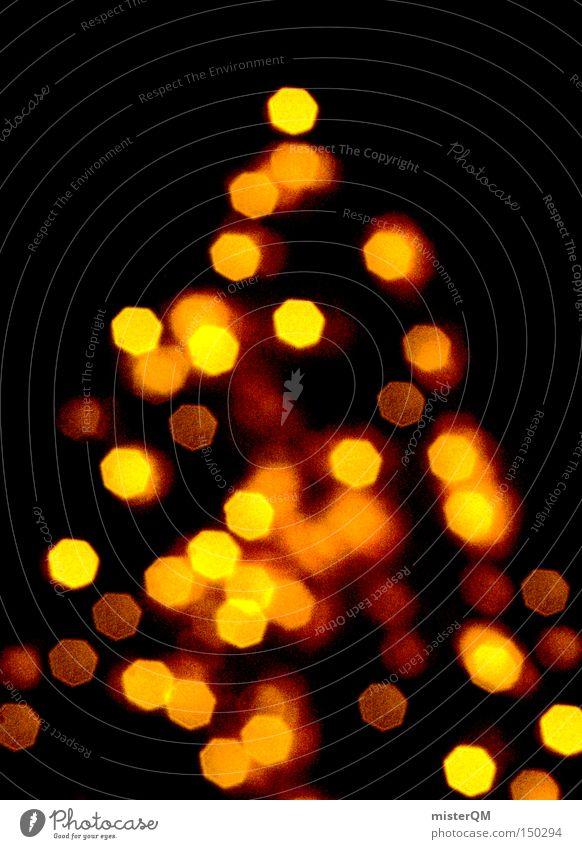 """""""Sehtest"""" oder """"Weihnachtsbaum nach 4 Litern Glühwein"""" Weihnachten & Advent Winter hell Feste & Feiern Weihnachtsdekoration Frieden Vorfreude Dezember friedlich"""