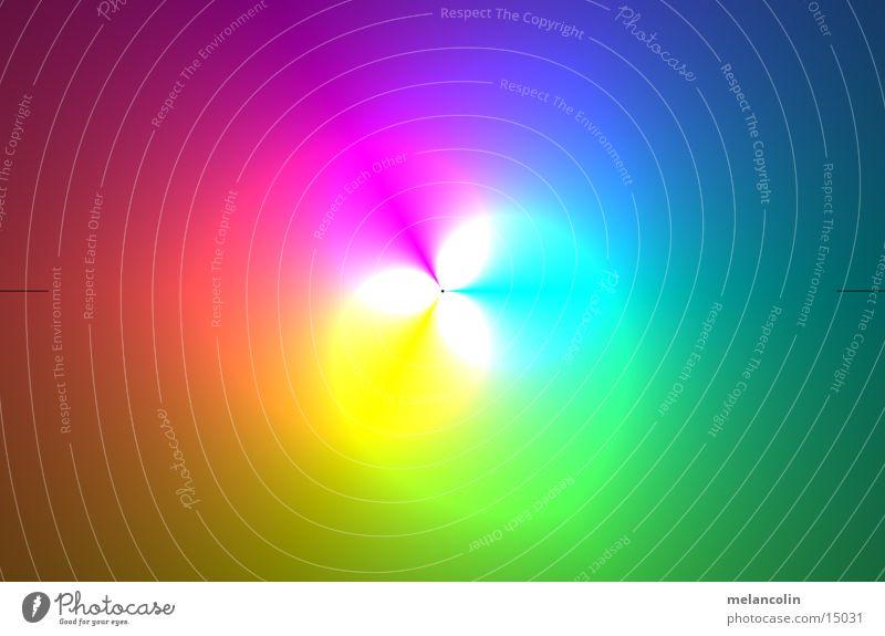 Lichtspiel Bonbon mehrfarbig Hintergrundbild Langzeitbelichtung