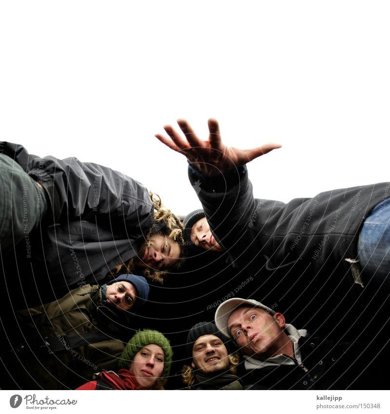 BLN08_zielgruppe Mensch Hand Menschengruppe Freundschaft Zusammensein Kreis Kultur Sitzung Versammlung Band Verabredung Überraschung Treffer Musiker Künstler