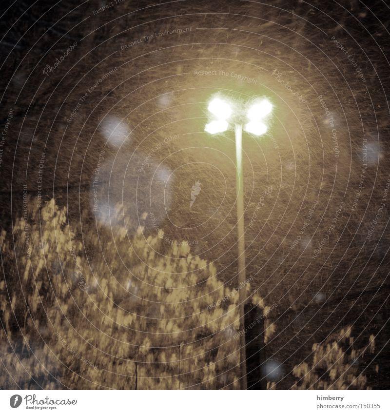 snowpatrol Winter Schnee Lampe Unwetter Straßenbeleuchtung Sturm Scheinwerfer Flutlicht Schichtarbeit Nachtwache
