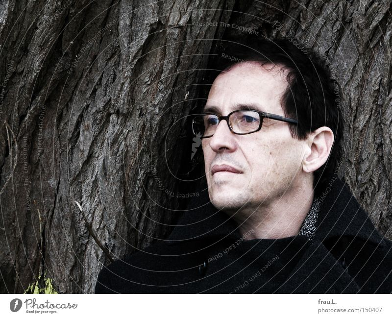 Philemon Mann Baum Gesicht Porträt Brille 50 plus Wismar
