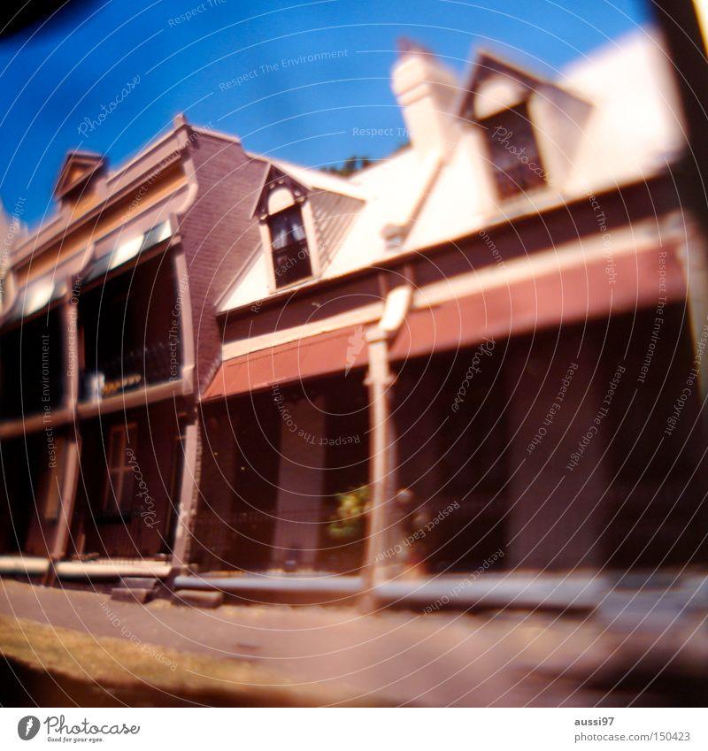 Victorian style Haus Englisch Australien Sydney Victorianisch victorian suburb Architektur