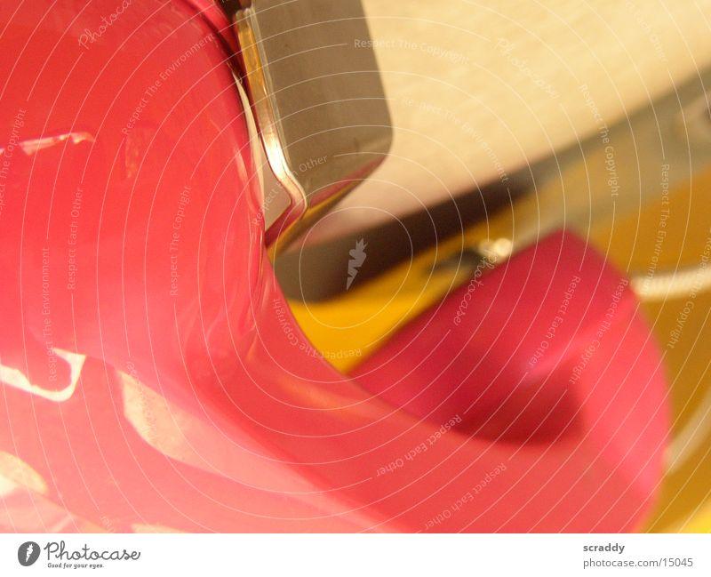 Telefonhörer Telefonzelle Abenddämmerung rosa Deutsche Telekom obskur Metall