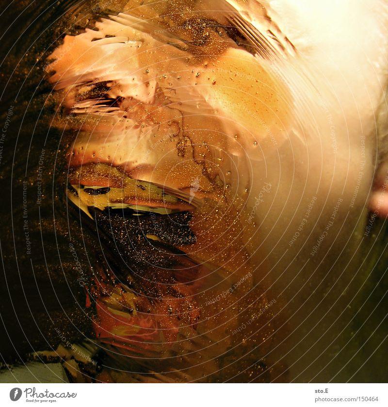 being just a little strange pt.1 Mensch Porträt schreien Unschärfe Reflexion & Spiegelung Mund Gefühle Freude Jugendliche Angst Panik Gesicht