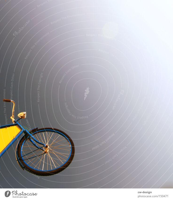 FREERIDE Himmel weiß Sonne gelb Lampe Fahrrad Freizeit & Hobby violett Mond Fahrradrahmen