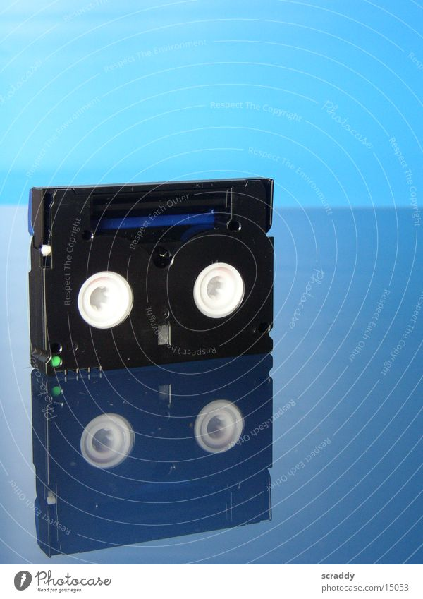 Mini DV blau Video Musikkassette Entertainment Videokassette
