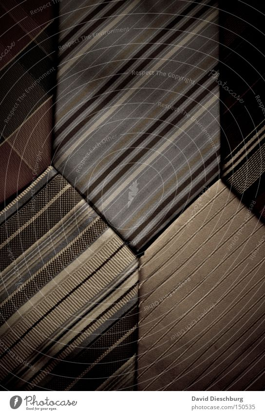Krawattenmuster Linie Bekleidung Geschenk Streifen Stoff diagonal Krawatte Dreieck Schneider Zickzack