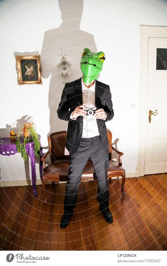 LP.Turtles. II elegant Stil Häusliches Leben Wohnung einrichten Innenarchitektur Dekoration & Verzierung Karneval Halloween maskulin Mann Erwachsene 1 Mensch