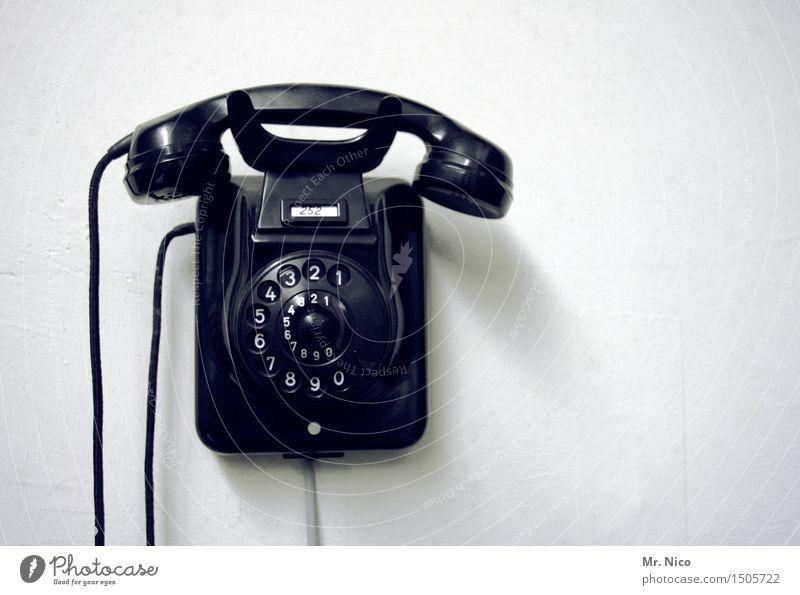 *1111* wer anruft kriegtn schnaps. alt schwarz Arbeit & Erwerbstätigkeit Design Häusliches Leben Dekoration & Verzierung Kommunizieren Telekommunikation retro