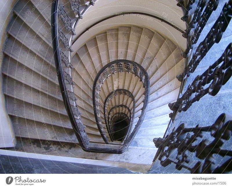 Wendeltreppe Haus Architektur Treppe Etage Geländer Treppenhaus